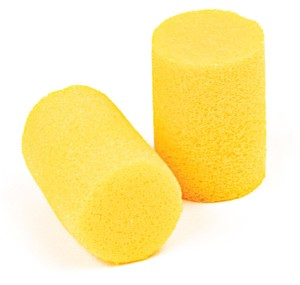 200 CLASSIC YELLOW DISPOSABLE EAR PLUGS BY 3M