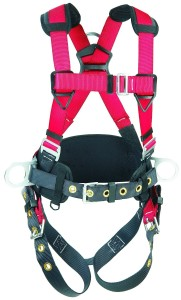 420-POUND CAPACITY CONSTRUCTION HARNESS WITH HIP PAD