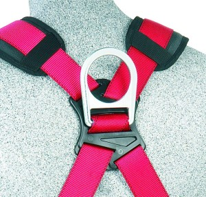 420-POUND CAPACITY CONSTRUCTION HARNESS WITH HIP PAD D RING