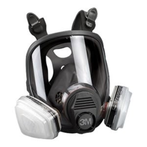 FULL FACE SPRAY PAINT MASK RESPIRATOR
