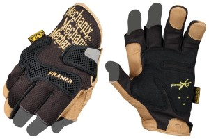 FINGERLESS MIDDLE AND INDEX FOR PRECISION PALM PADDING FOR VIBRATION