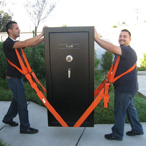 Construction safety equipment harness for lifting pianos - Sangle de demenagement ...