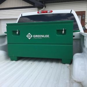 Greenlee Chest in Truck Bed