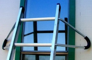 Ladder Roof Standouts exterior wall