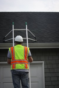 Ladder Roof Standouts on roof