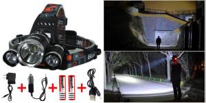 Keku LED High Power Headlamp Rechargeable Heading