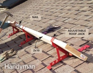 Attractive ROOF JACKS U2013 BRACKETS FOR SHINGLING STEEP ROOFS